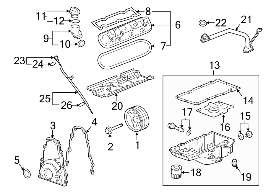 Gmc Yukon Xl Parts Diagram